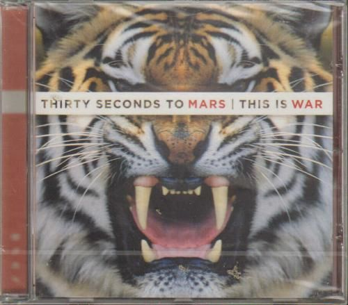 Cd Thirty Seconds to Mars - This is War