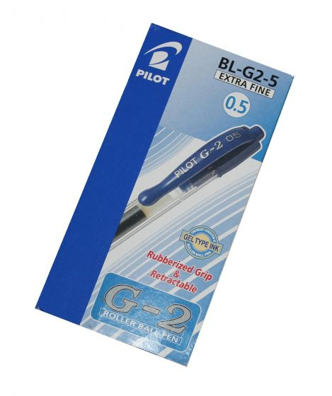 Pilot BL-G2-5 roller ball pen 0.5mm pk á 12 stk
